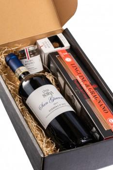 Box pasta-truffel & wijn