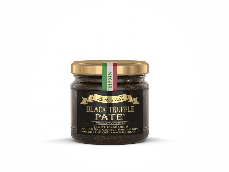 Zwarte truffelpastei 90gr